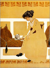 Gallery print  Discarding from strength - Clarence Coles Phillips