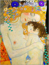 Wall Stickers  Mother and Child (detail) - Gustav Klimt