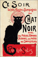 Gallery print  Chat Noir (Black Cat - French) - Théophile-Alexandre Steinlen