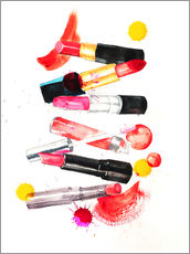 Gallery print  Lipstick collection - Rongrong DeVoe