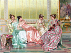 Gallery print  Music Lesson - Vittorio Reggianini
