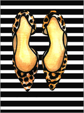 Gallery print  Dots on stripes - Rongrong DeVoe