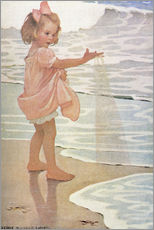 Wall Sticker  Little drops of water - Jessie Willcox Smith