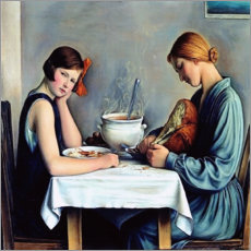 Premium poster  The tailor soup - François Barraud