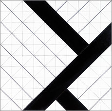Gallery print  Counter composition vi 1925 - Theo van Doesburg