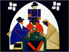 Wall sticker  Card players - Theo van Doesburg