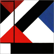 Gallery print  simultaneous counter composition - Theo van Doesburg