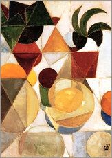 Gallery print  Composition III Still Life - Theo van Doesburg