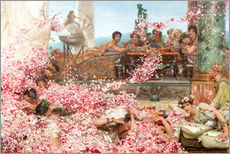 Wall sticker  Les roses - Lawrence Alma-Tadema