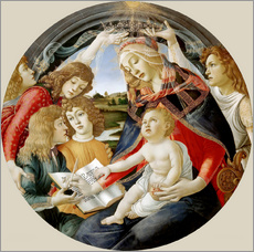 Gallery print  Madonna of the Magnificat - Sandro Botticelli