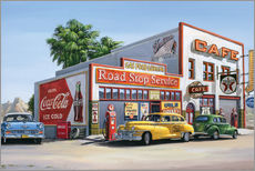Wall sticker  Road Stop Service - Georg Huber