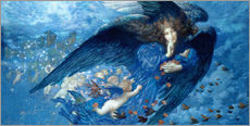 Wall Sticker  Night with her train of stars - Edward Robert Hughes