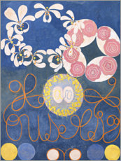 Alu-Dibond  The Ten Largest, No. 1, Childhood - Hilma af Klint