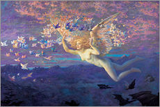 Gallery print  Wings of the Morning - Edward Robert Hughes
