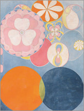 Wood print  The Ten Largest, No. 2, Childhood - Hilma af Klint