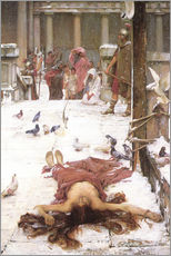 Gallery print  Saint Eulalia - John William Waterhouse
