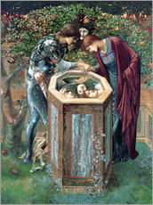 Wall sticker  The Baleful Head - Edward Burne-Jones