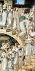 Gallery print  The Golden Stairs - Edward Burne-Jones