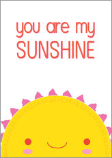 Wall Stickers  You are my sunshine - Kat Kalindi Cameron