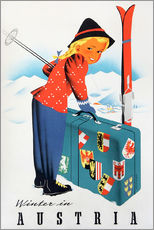 Wall sticker  Winter in Austria - Travel Collection