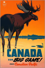Gallery print  Canada travel for big game - Travel Collection