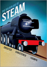 Wall sticker  Flying Scotsman - Advertising Collection