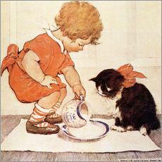 Wall Sticker  A Little Childs Book of Stories 2 - Jessie Willcox Smith