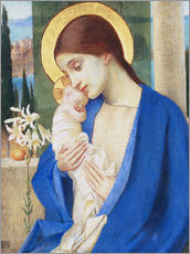 Wall sticker  Madonna and child  - Marianne Stokes