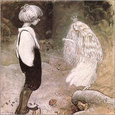 Wall Stickers  The seven wishes - John Bauer