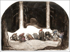 Gallery print  In the christmas night - John Bauer