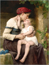 Gallery print  Mother and Child - Leon Bazile Perrault