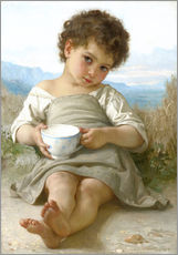 Gallery print  A little break - William Adolphe Bouguereau