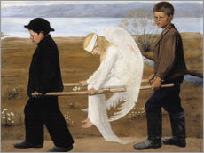 Wall Stickers  The Wounded Angel - Hugo Simbert