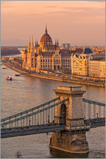 Wall sticker  Budapest late afternoon - Fine Art Images