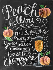 Gallery print  Peach Bellini recipe - Lily & Val