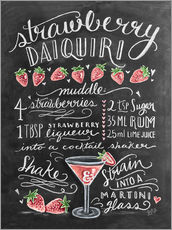 Gallery print  Strawberry Daiquiri recipe - Lily & Val