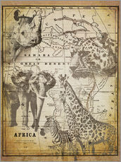 Wall sticker  The Spirit of Africa - Andrea Haase