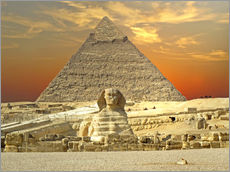 Gallery print  Sphinx from Gizeh - Tina Melz