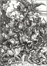 Wall sticker  The Four Apocalyptic Horsemen - Albrecht Dürer
