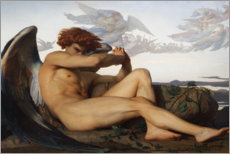 Wall sticker  Fallen angel - Alexandre Cabanel