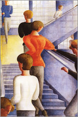 Wall sticker  Bauhaus Steps - Oskar Schlemmer