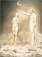 William Blake - the creation of eve