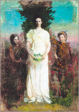 Gallery print  My Children (Mary, Gerald, and Gladys Thayer) - Abbott Thayer