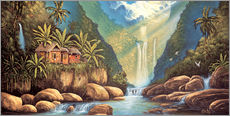 Wall sticker  Back in Paradise - Georg Huber