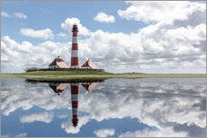 Wall sticker  Lighthouse at the Northsea - Filtergrafia