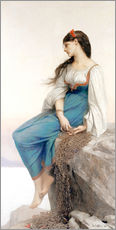 Wall sticker  The Sailor's Wife - Jules Joseph Lefebvre