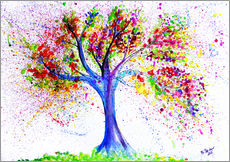 Wall sticker  Tree of life and energy - M. Bleichner