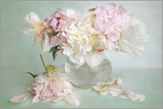 Gallery Print  still life with peonies - Lizzy Pe