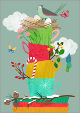 Wall sticker  Four Seasons - Elisandra Sevenstar