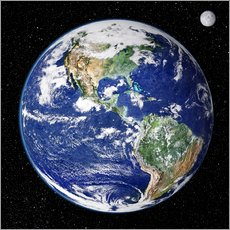 Wall sticker  Earth from space - NASA